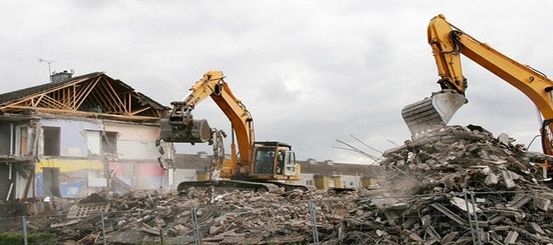 انتخاب یک روش درست برای تخریب ساختمان